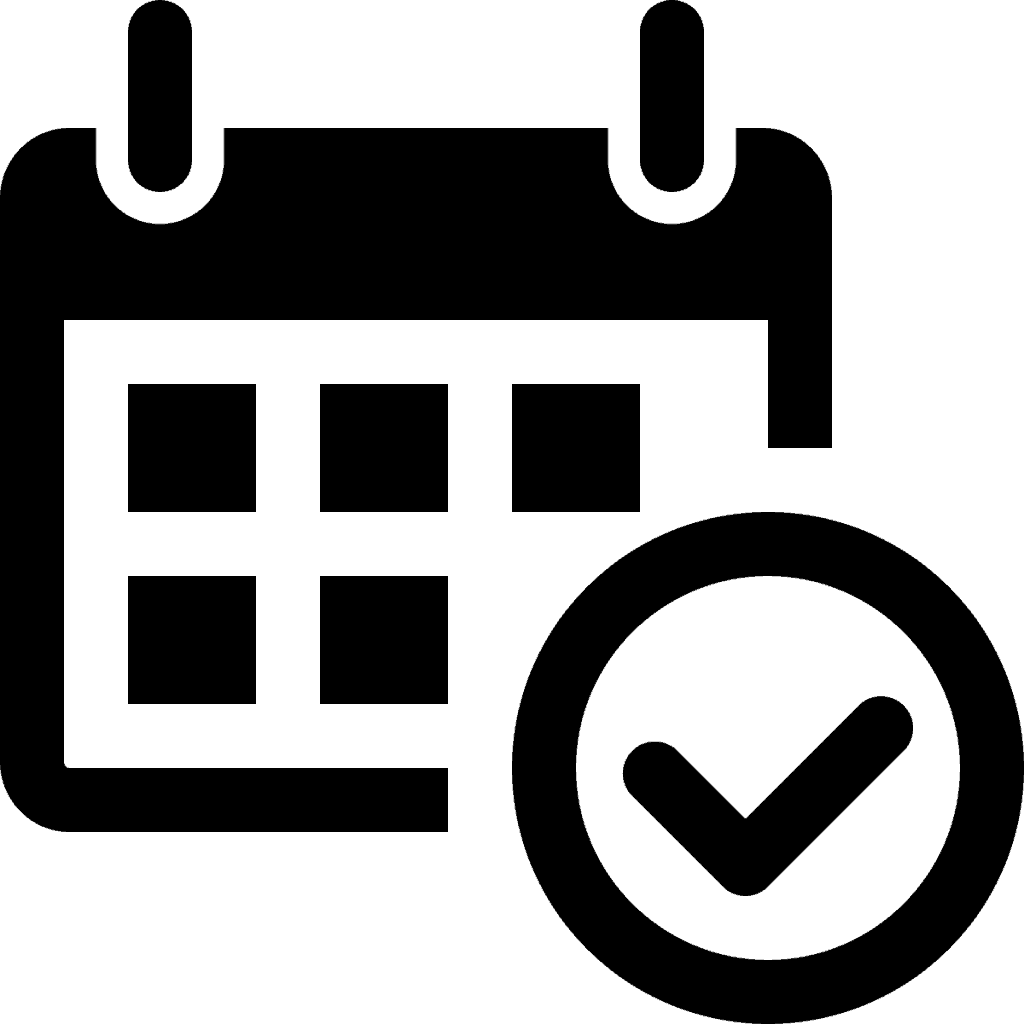 Icon of appointment calendar